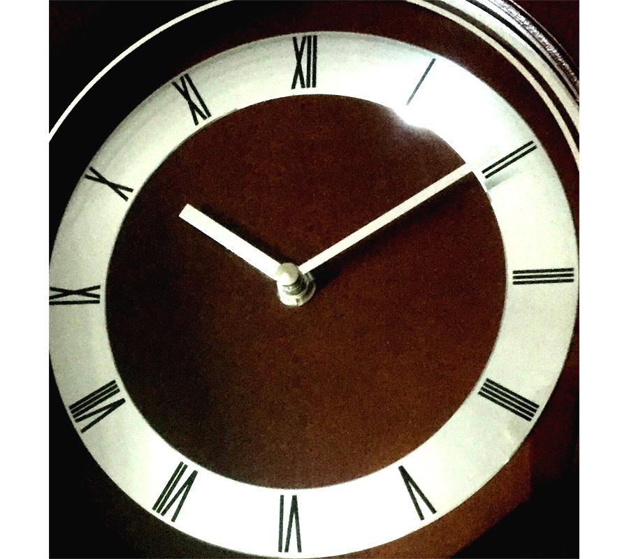 wall clock with pendulum chiming clock 53cm seiko