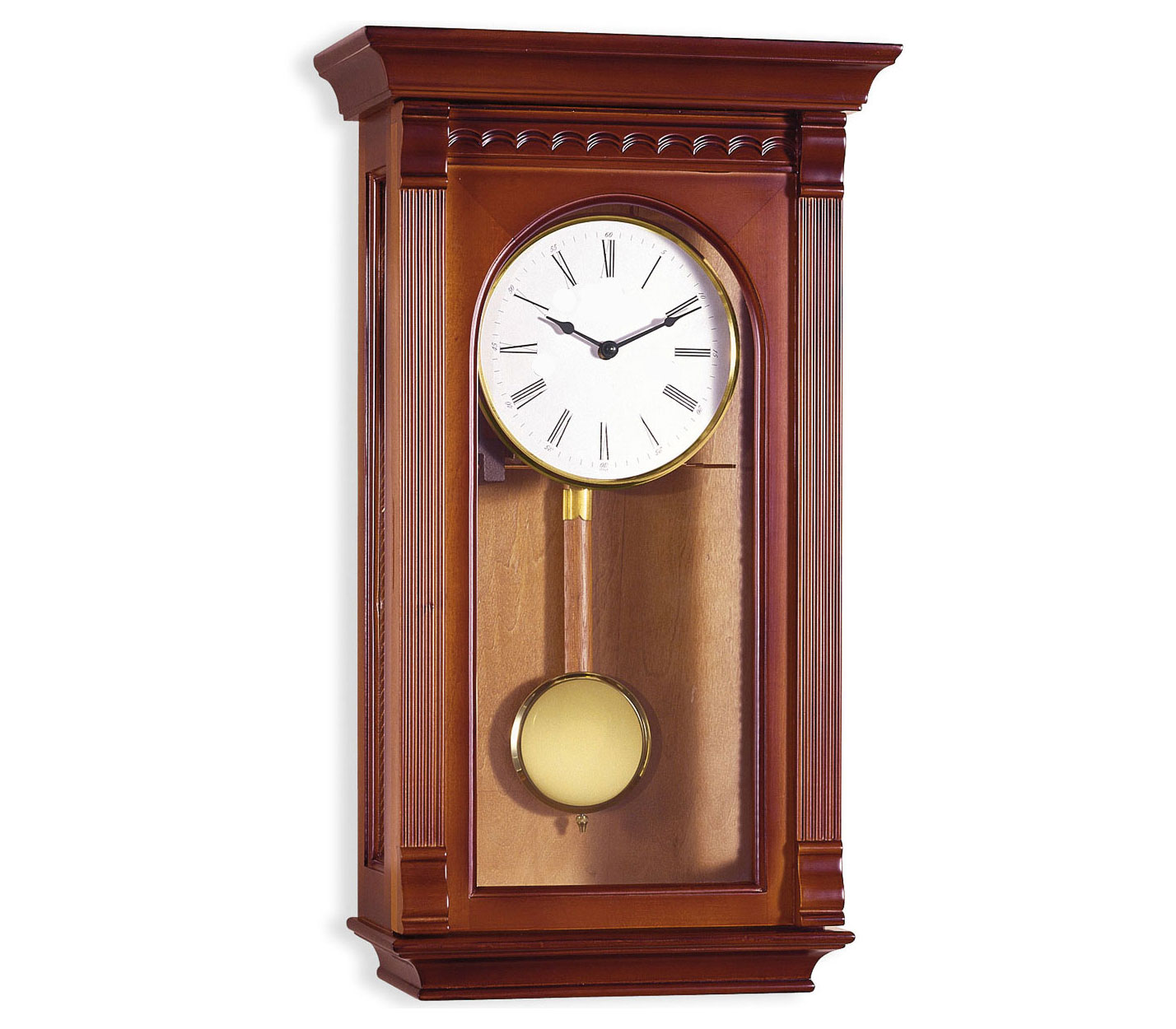 Reloj de pendulo de pared 51cm con carill n soneria - Relojes rusticos de pared ...