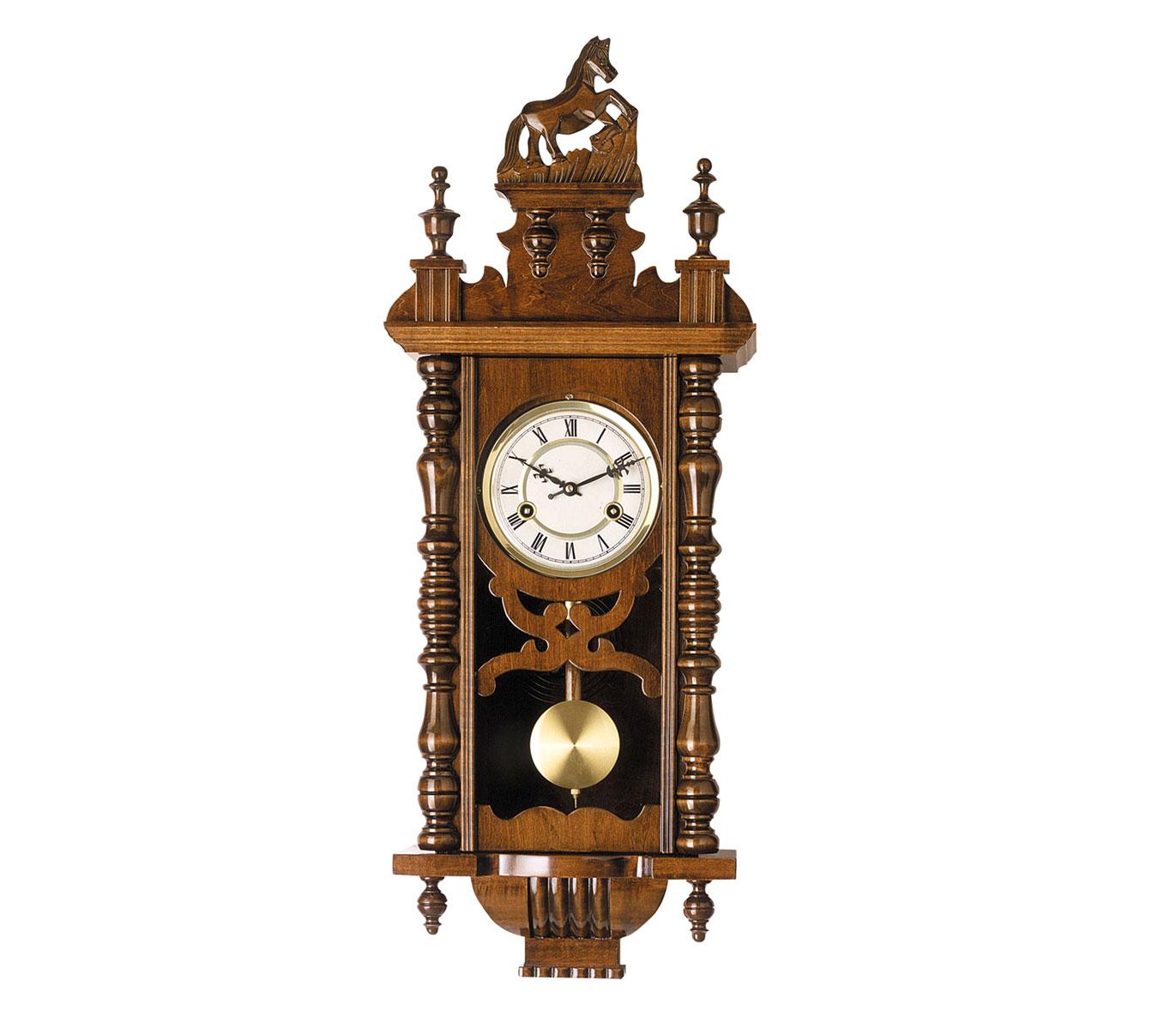 Reloj de pendulo de pared con carrillon cuarzo 77cm alta for Relojes de pared antiguos de pendulo